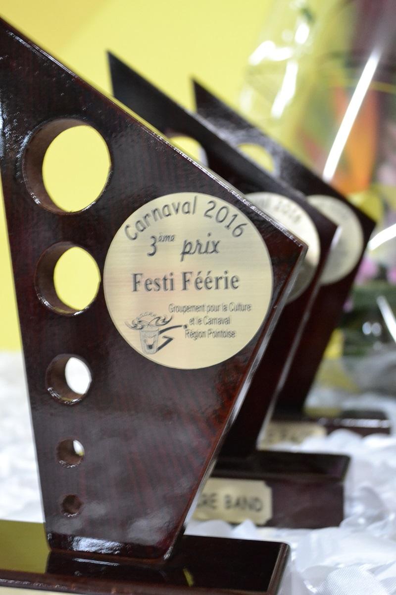Cérémonie de remise des prix du carnaval de Pointe-à-Pitre
