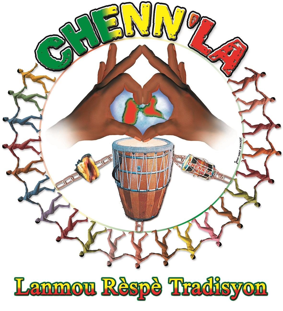 Un tambour chant avec le groupe Chenn La