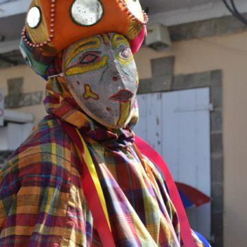 Les Masques de Vieux-Fort, mardi gras, Basse-Terre, 2017