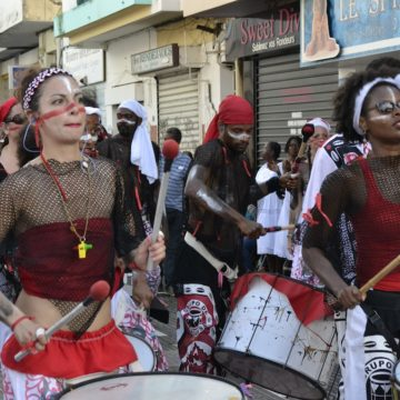 Batala Gwada, Mardi gras, Basse-Terre, 2017