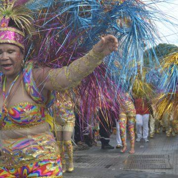 Waka, Waka et son arbre festif, des racines à l'explosion, Mardi gras, Basse-Terre, 2017
