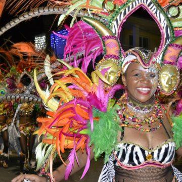 Explosion V, Afrika Color, Le Lamentin, La nuit du Carnaval, 2017