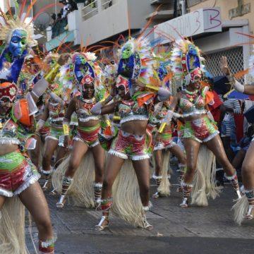 La couronne Verte, Réjouissances africaines, Mardi gras, Basse-Terre, 2017