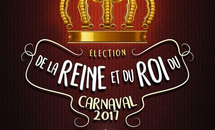 Election du Roi et de la Reine du carnaval 2017