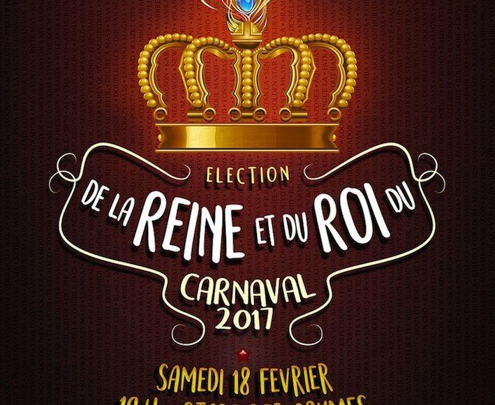 Election de la reine et du roi du carnaval 2017
