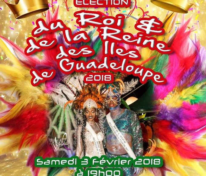 Election de la reine et du roi du carnaval 2018