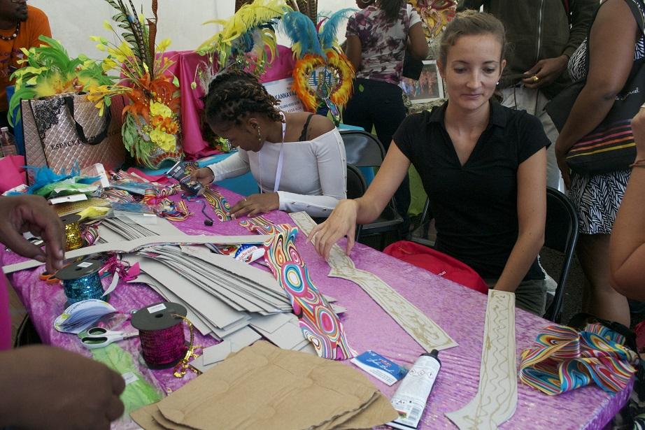 Première édition réussie pour le Village Expérience Carnaval