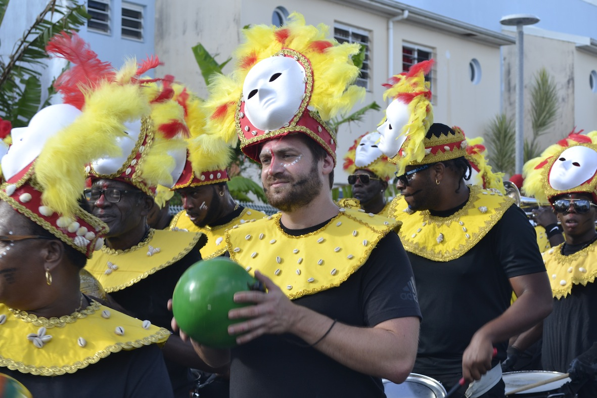 Première mise en jambe pour les carnavaliers